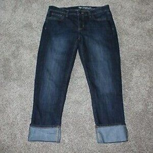 Gap Straight Cuff Cropped Jeans
